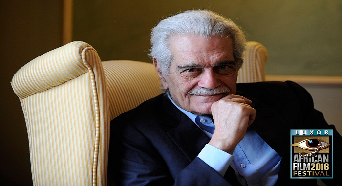 (OMAR SHARIF IN THE EYES OF THE WORLD) A new book published by Luxor African Film Festival (LAFF) at its fifth edition
